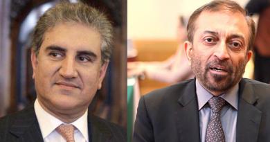 Shah Mehood and Farooq Sattar